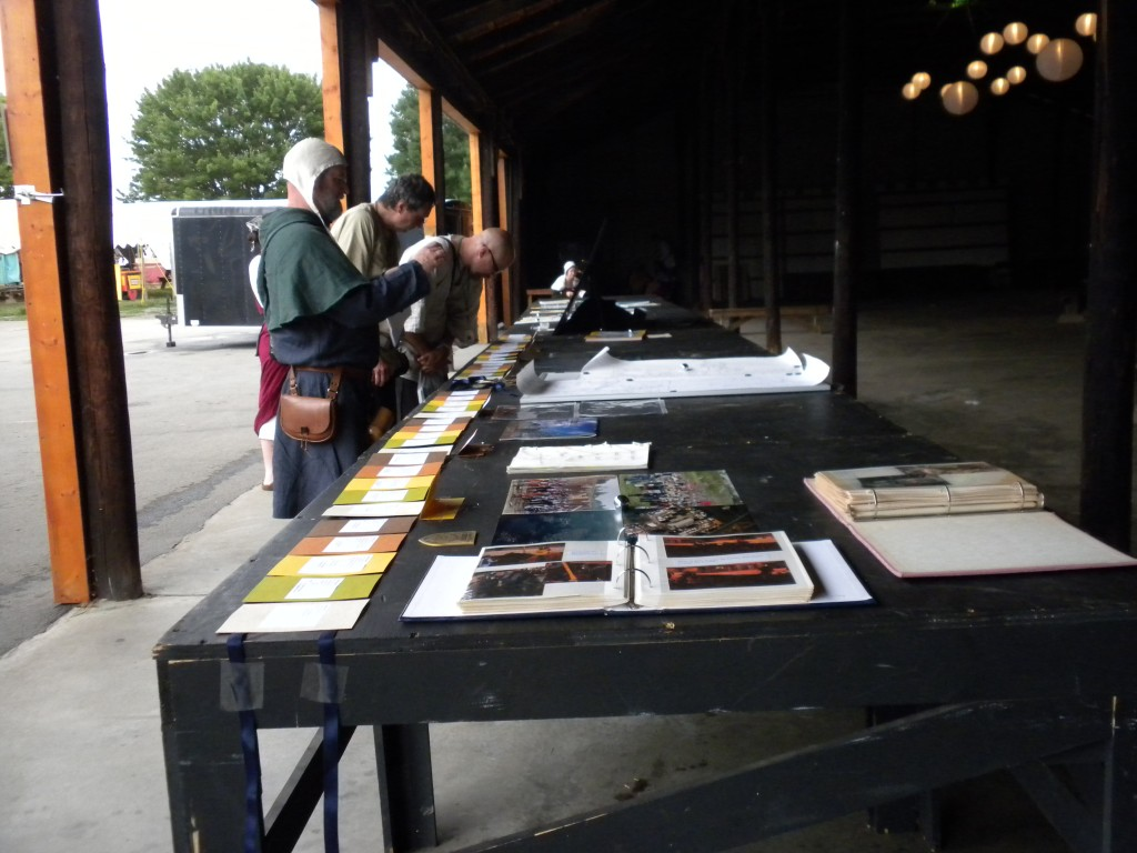 The Pennsic 40 History Display