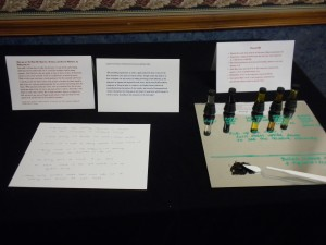 Ink Display at Mad Science Fair